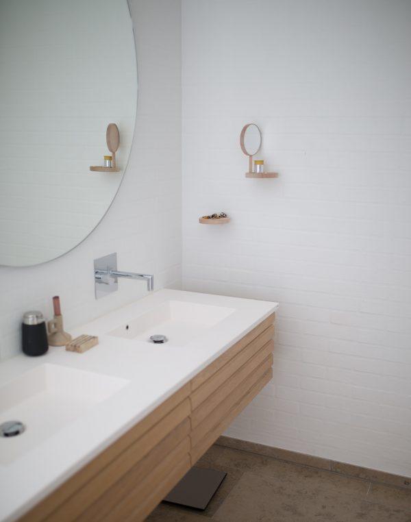 Accessoires in de badkamer