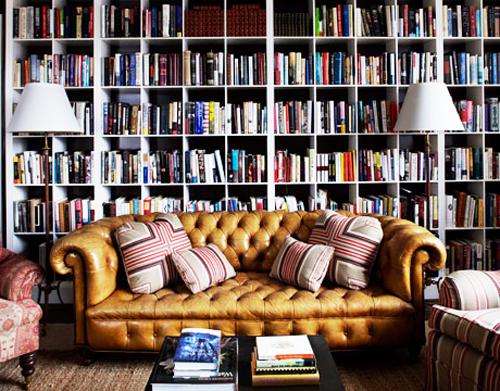 Verzot op boeken? Je eigen bibliotheek.