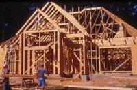 Houtskeletbouw, een houten skelet