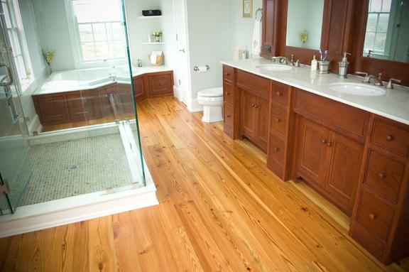 Landelijke badkamers: rustieke rust