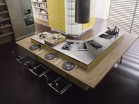 Moderne keuken stijl