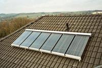 Zonneboiler en zonnecollector
